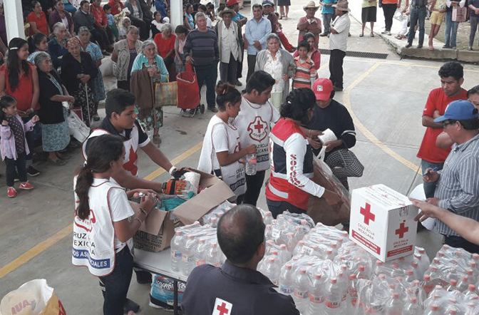 The Mexican Red Cross says Thank You