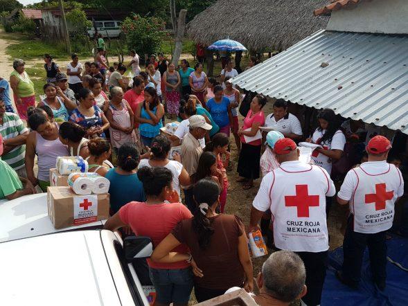 Croce Rossa terremoto Messico