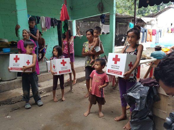 Online Spenden der Nicequest Mitglieder helfen den Überlebenden der Erdbeben in Mexiko