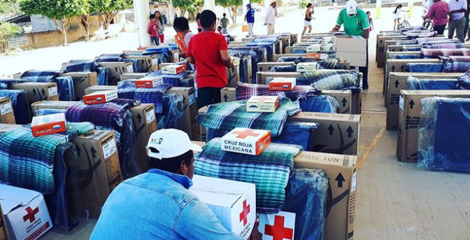 Mexican Red Cross collected over 4,507 tons of humanitarian aid