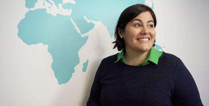 María Vázquez-Dodero, una delle fondatrici della Fondazione Amigos de Rimkieta.