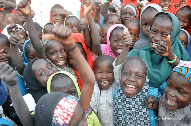L'obiettivo è quello di un mondo in cui tutti i bambini e bambine realizzano le proprie potenzialità.