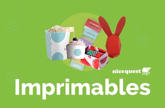 Imprimables Nicequest : Devenez votre propre designer et décorateur