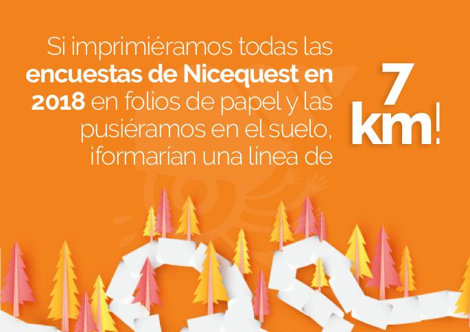 Encuestas en 2018 en Nicequest 7km