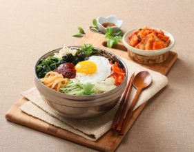 Bibimbap - healthy lunch ideas for work
