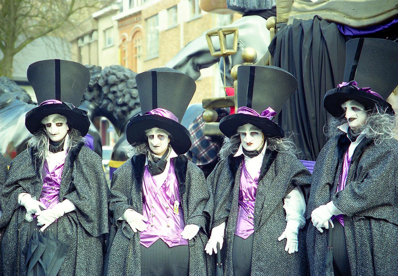 Os personagens do Carnaval de Aalst não passarão em branco