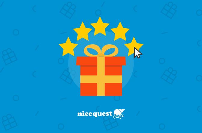 Cómo valorar tu regalo de Nicequest
