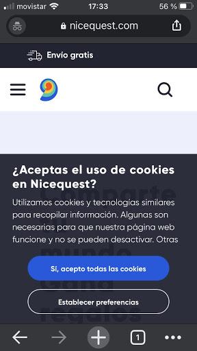 En Nicequest utilizamos cookies, consulta nuestra Política de cookies para más información sobre qué cookies usamos y tus derechos.
